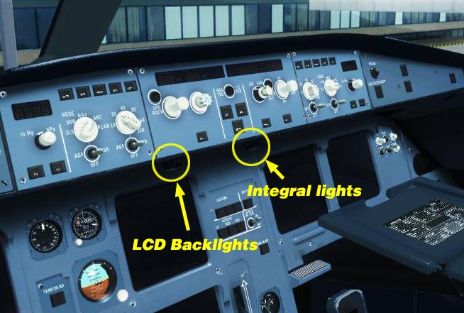 No Integral Lighting or Dome Light - BLACKBOX SIMULATION SOFTWARE