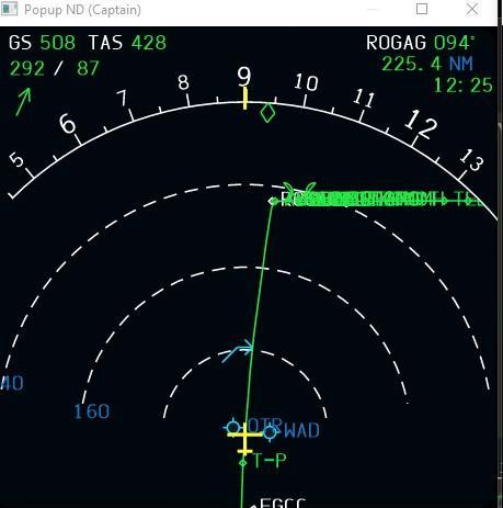 A330 not following FMC flight plan  - BLACKBOX SIMULATION